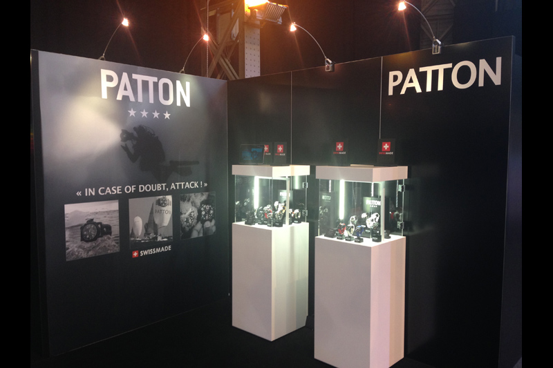 PATTON watches at Orologio Belgium
