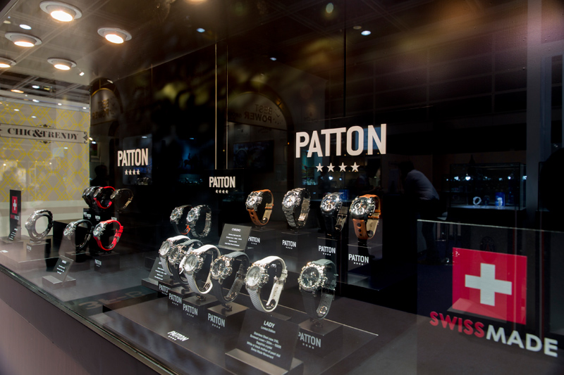 PATTON watches at Watch & Clock Fair Hong Kong