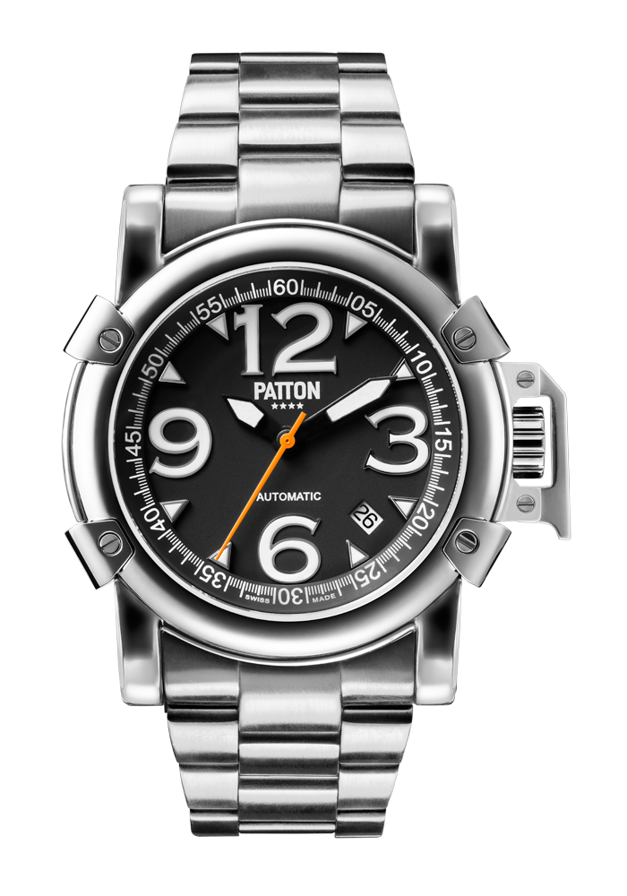 AUTOMATIC - Steel - Silver - Steel - 43mm
