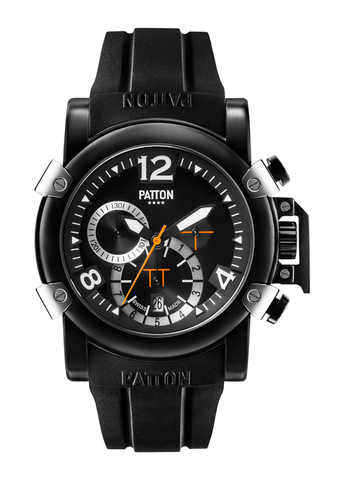 CHRONO - Dark - Black - Rubber - 42mm