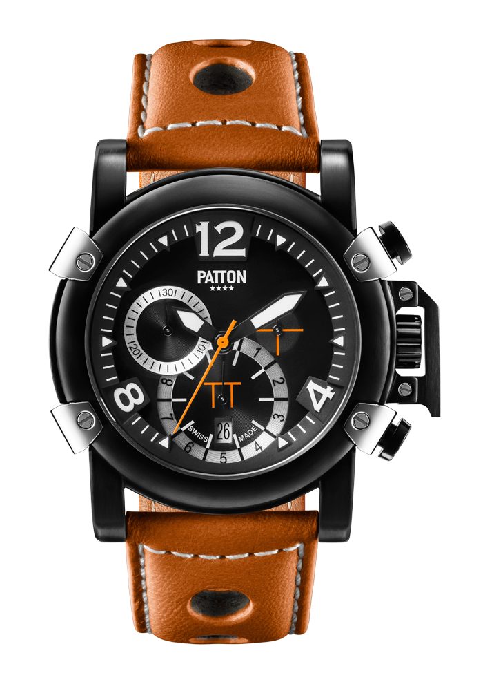 CHRONO - Dark - Brown - Leather - 42mm