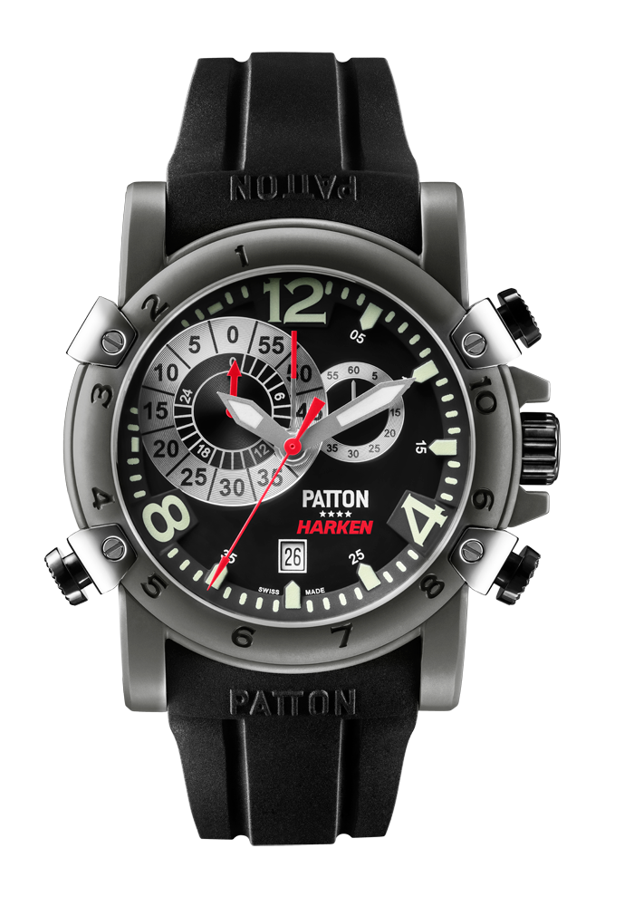 HARKEN - Yacht - Black - Rubber - 42mm