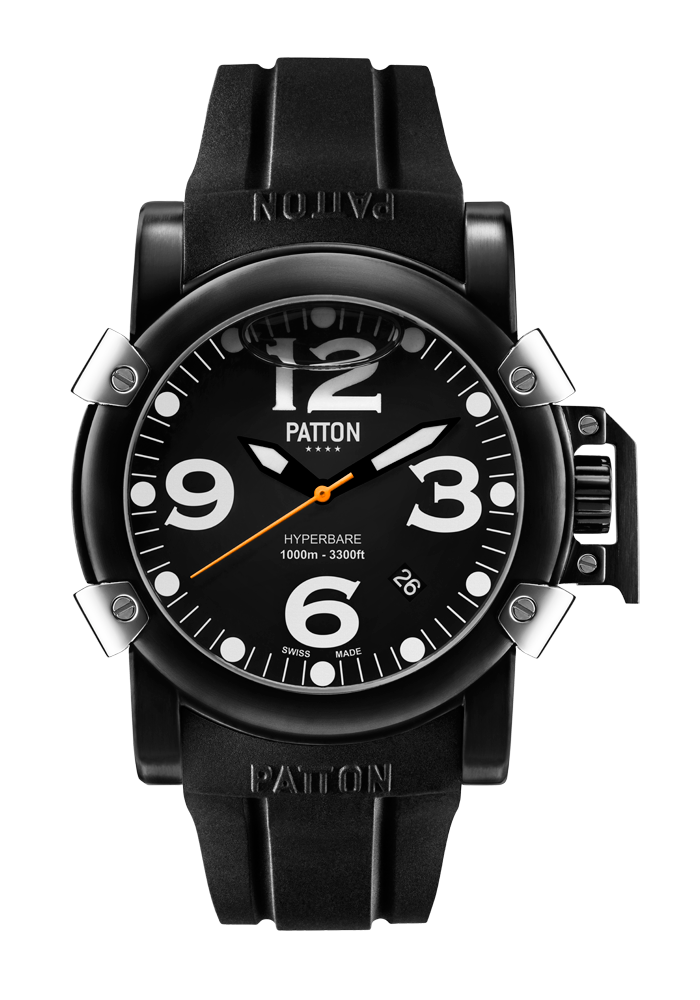 HYPERBARE - Origine - Black - Rubber - 42mm